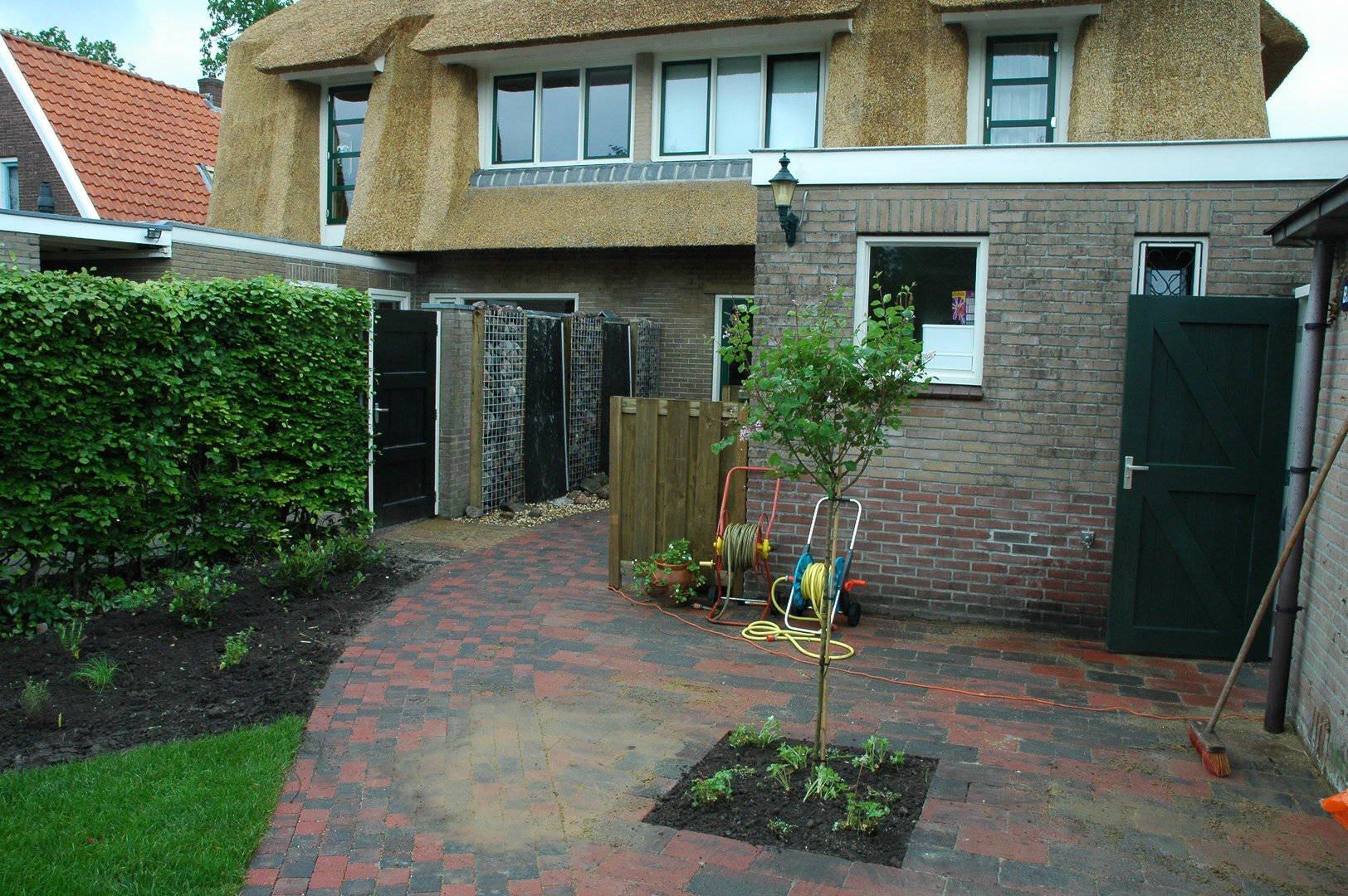Renovatie Smalle Tuin : Renovatie van een lange smalle tuin in assen drupal