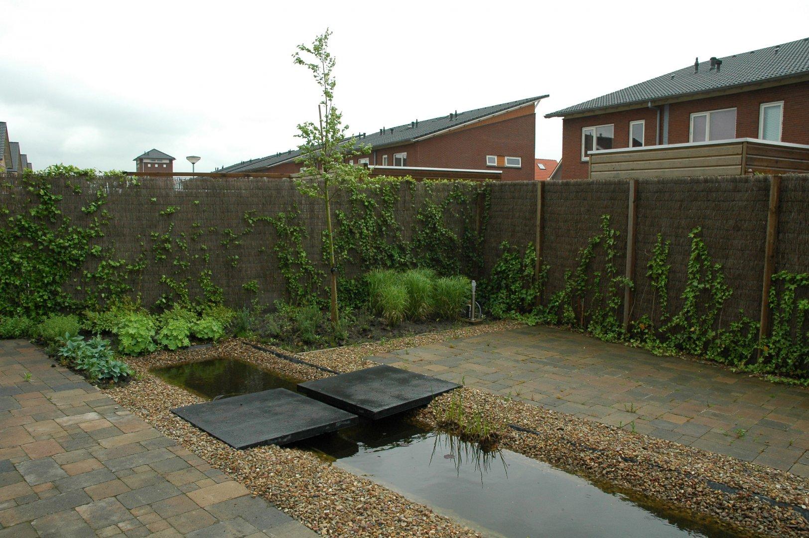 Renovatie Smalle Tuin : Tuin met strakke vormgeving in kloosterveen assen drupal