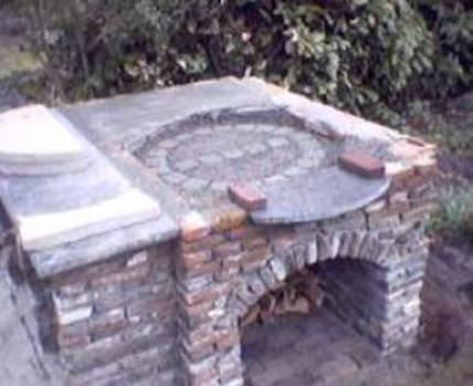 Pizza Oven Tuin : De opbouw van de oven in onze eigen tuin drupal